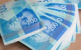 Какая валюта в израиле для туристов
