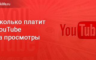 За что платит youtube